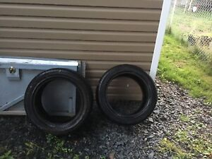 2 continental tires. Brand new
