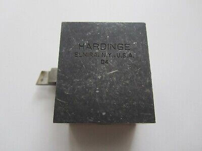 Hardinge D4 Style 38 Tool Holder Cross Slide Lathe Cutting Missing Hold Down