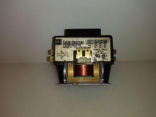 Eaton Cutler Hammer Contactor C25BNB220B