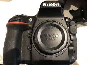 Nikon D810 like new with grip.