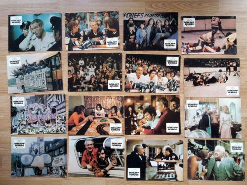 Paul Newman SLAP SHOT 16 rare German lobby cards 1977 ICE HOCKEY George Roy Hill