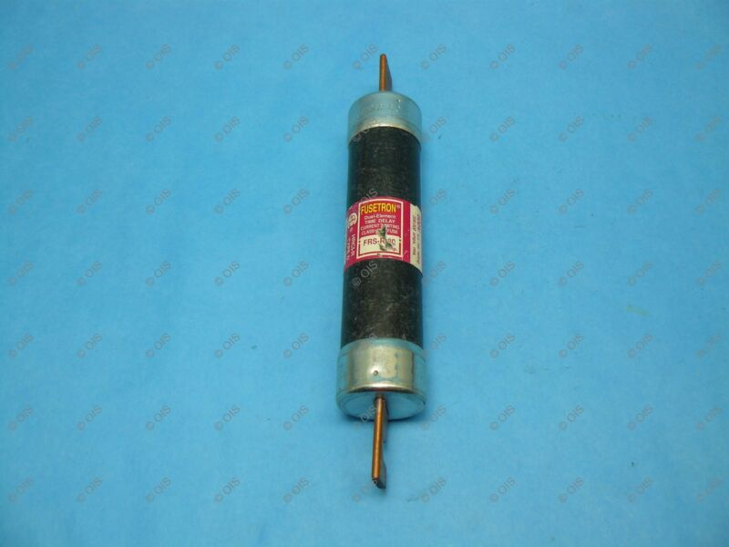 Bussmann FRS-R-80 Time-delay Fuse Class RK5 80 Amps 600 VAC/300 VDC Tested