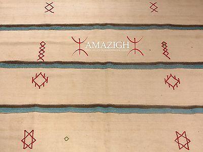 Old Large Jewish Women Blanket - South Morocco - Rare Item