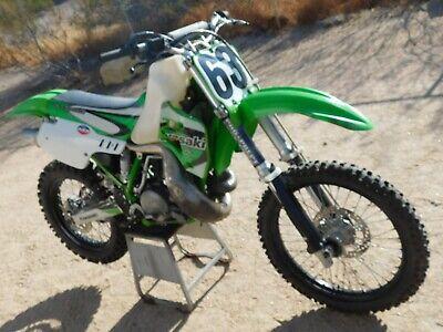 '90 Kawasaki KX500 KX 500 RUNNER Vintage MX MotoCross FMF Great Desert Racer