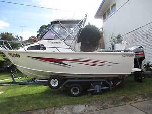 aluminium sportfish 5.7m plate fishing boat Blakehurst Kogarah Area Preview