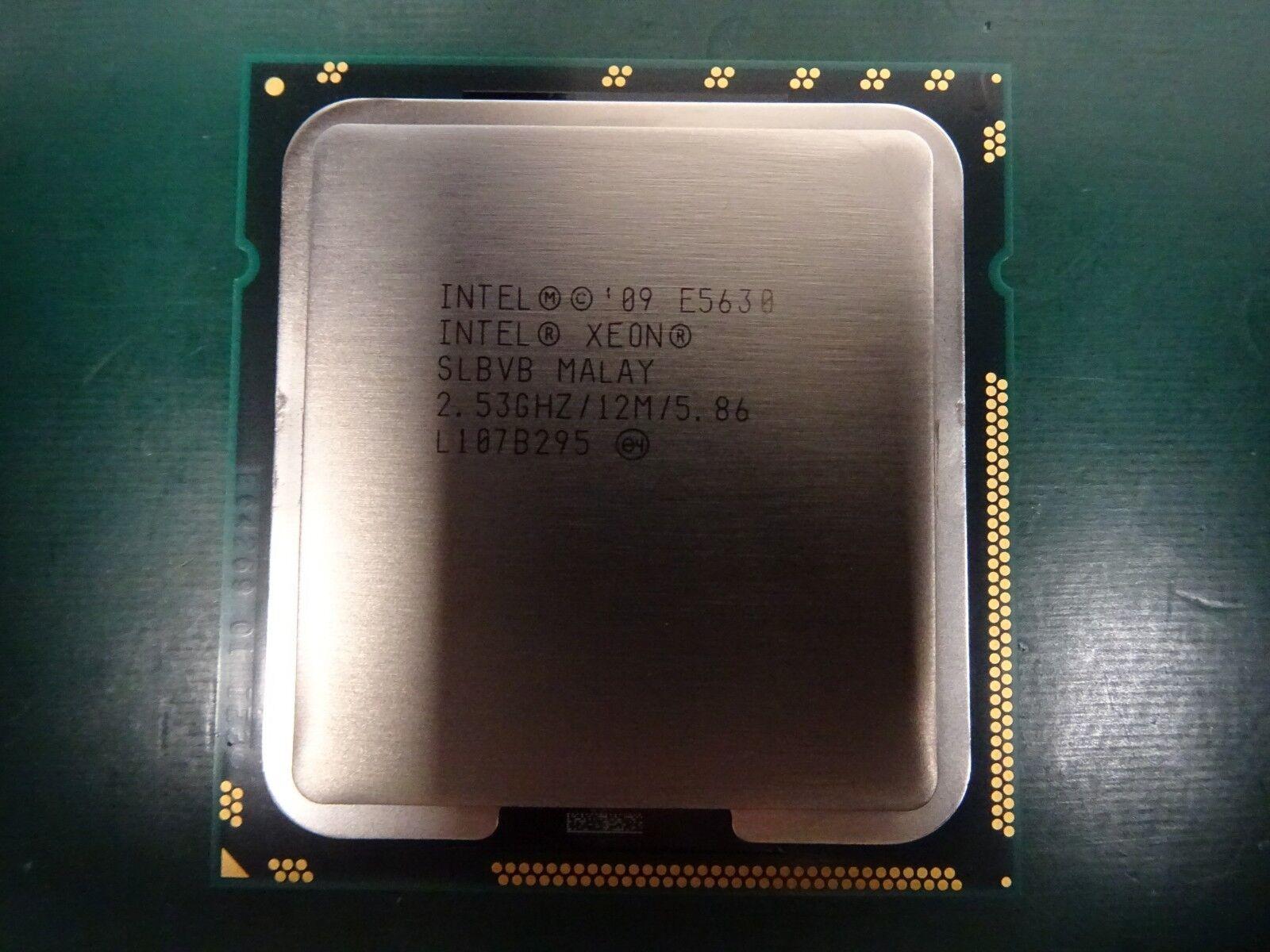 Lot of 12 Intel Xeon E5630 2.53GHz 12MB 5.86 GT//S SLBVB CPU Server Processor