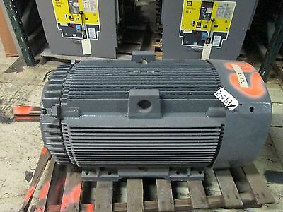 Ge Motor 5k6449ss308 100hp 1200rpm 449t Frame 2300v 24.9a Refurbished