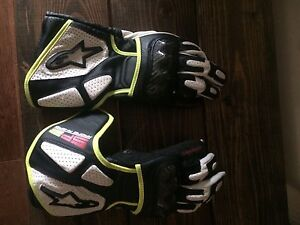 Alpinestars SP2 leather motorcycle gloves