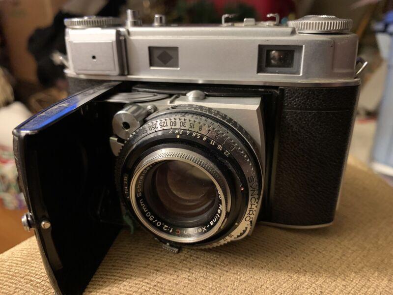 Kodak Retina IIIc Vintage German Made 35mm Camera