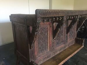 Large Antique Pittara Chest - 140 Years Old Benowa Gold Coast City Preview