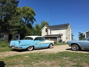1955 Oldsmobile holiday 98 four door hardtop