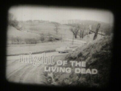 """16mm feature Classic Horror film """" The Night of the Living Dead """" VG print"""
