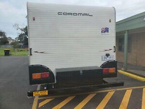 2008 coromal triple bunk caravan