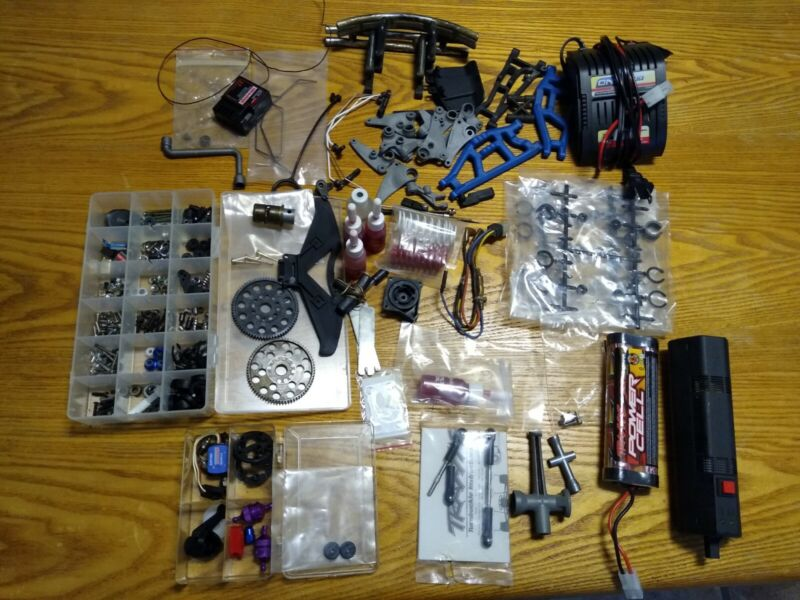 Traxxas parts lot, new parts and used, rpm, ez start, etc...