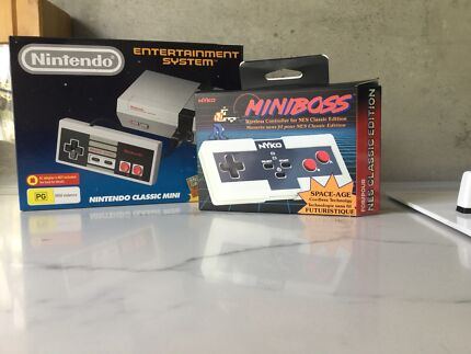 Nintendo Mini - Brand New + MiniBoss controller Wireless RARE