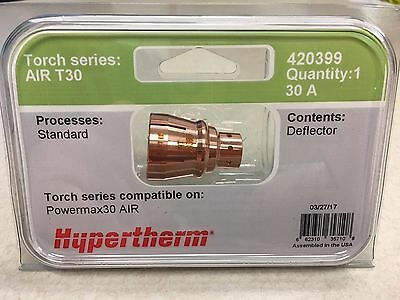 Genuine Hypertherm 420399 Air T30 Deflector 30a Powermax 30 Plasma
