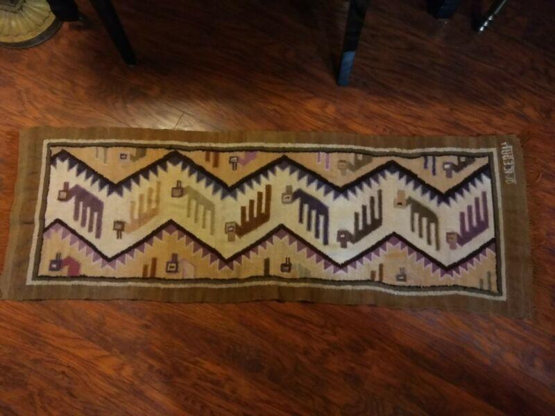 Tom Berenger Estate Peru Textile Tapestry Raquel