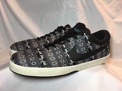 e6c364db0515 Nike SB Eric Koston Warmth Black Gray 685189-003 Skateboard Mens Shoe US  Size 13