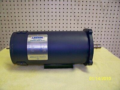 Leeson Dc Motor 1 Hp 3000 Rpm 120vdc
