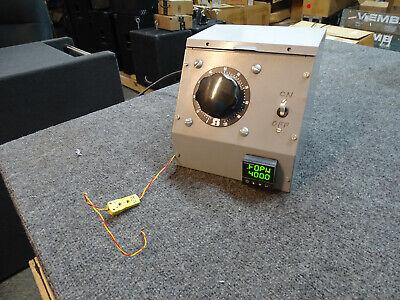 Custom Variac Omega Cni16d44 Temp Controller Staco 1010b Variable Transformer