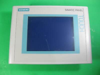 Siemens Simatic Touch Panel Tp177b Dp-6 Mstn -- 6av6 642-0bc01-1ax1 -- Used