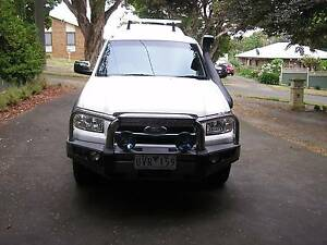 2007 Ford Ranger twin cab Ute Warragul Baw Baw Area Preview