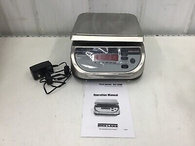 Rice Lake Weighing Systems - Bench Scale Rlp-15s