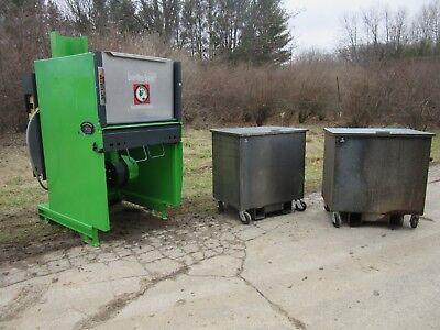 Bergmann Roto-compactor Trash Compactor Aps-600 Kenbay Rotopac Convience Store