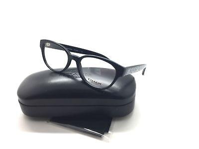 Coach Schwarzer Rahmen Brille 49 Brille HC6069 5002