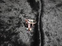 Anillo Plata Zuni Thunderbird Incrustaciones Turquesa/coral/madreperl Talla 5,5 -  - ebay.es