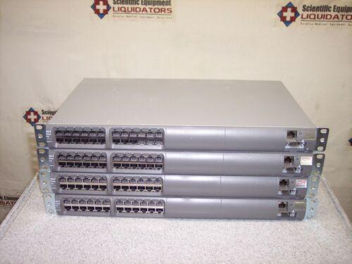 PowerDsine 6512  - 12 Port PoE Midspan -  P/N  (PD6512/AC/M/PMS) - Lot of 4