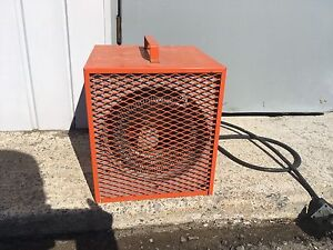 Fan construction chaufferette