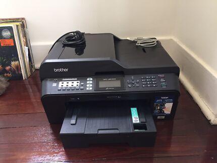 Brother MFC-J6510DW A3 Printer Scanner + ink cartridges