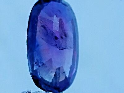 2.7 Carat Rare Pink Color Change Kashmir Sapphire