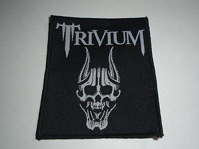 TRIVIUM SCREAMING SKULL WOVEN - Screaming Skull