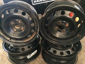 Honda civic(01-05) tires and rims  $150