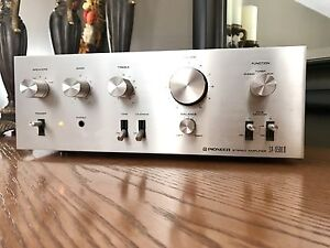 Serviced 1979 Near Mint PIONEER SA-6500 II  Amplifier Japan