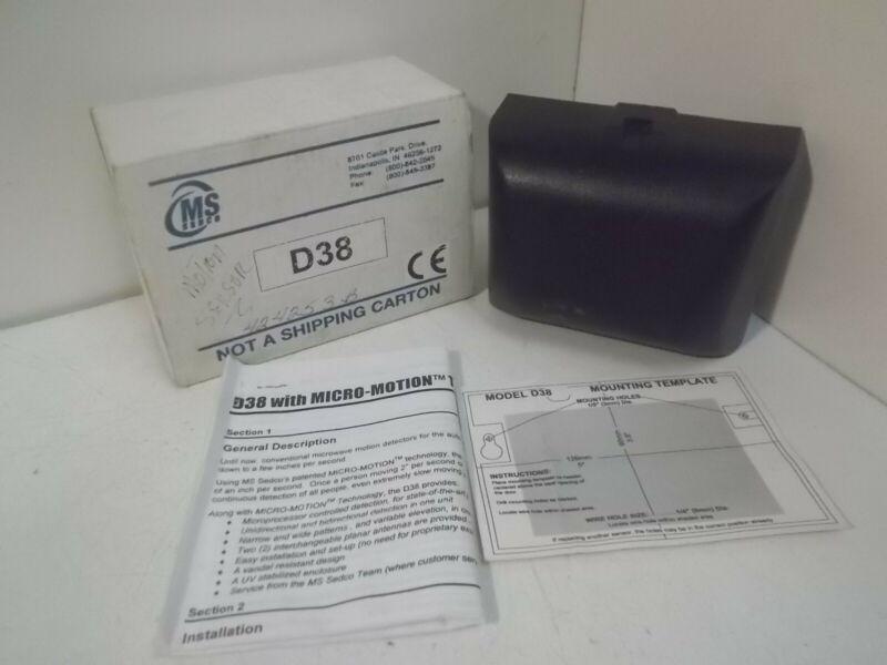 Sedco D38 Motion Sensor