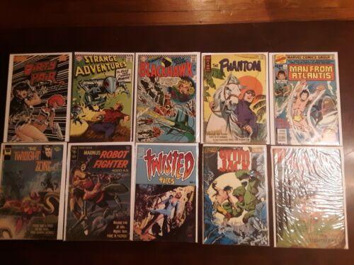 Lot of 1960s & 1970s Sci-Fi & Horror Comics STRANGE ADVENTURES Twisted Tales #1