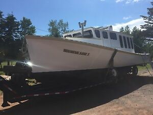 45 foot fishing boat converted to pleasure boat