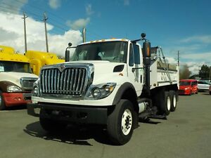 2011 International 7500 Tri-axel Diesel Dump Truck & Plow Automa