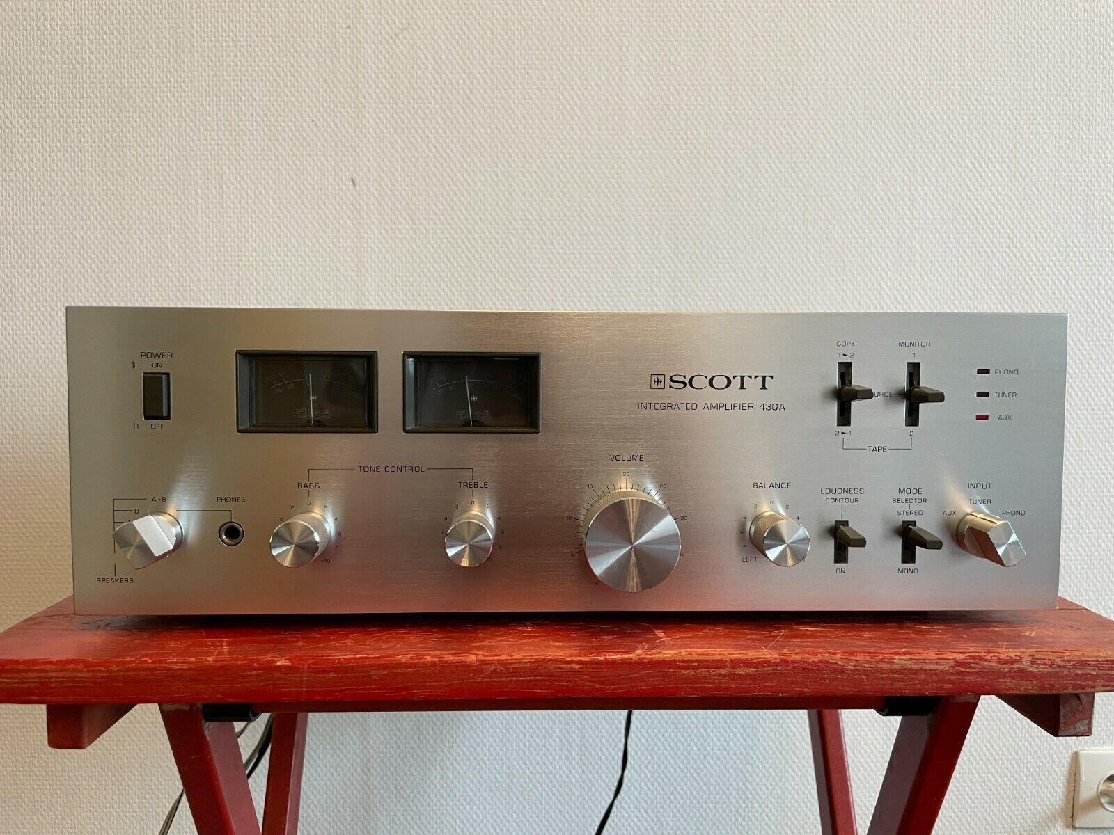 Scott 430a stereo integrated amplifier amplificateur stéréo intégré