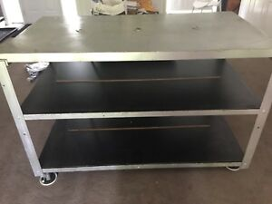Work Table Bench Shelves