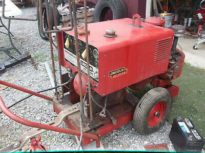 Lincoln Lincwelder 225 Gas Powered Arc Welder Generator Onan Engine