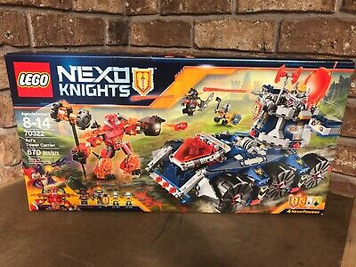 LEGO NEXO KNIGHTS Axl's Tower Carrier (70322) New Sealed
