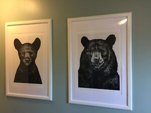 Two Large IKEA Frames