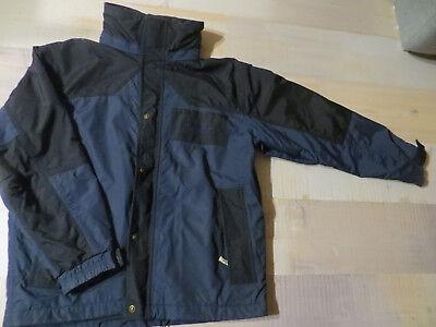 Jacke Gr. M in blau schwarz von Gato Negro, Herbstjacke Windjacke Herren Damen