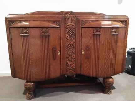 1930s Oak Sideboard