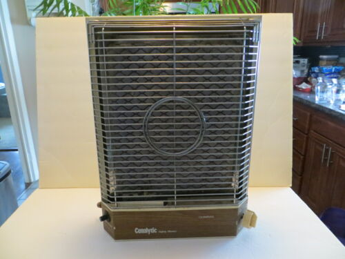 Vintage Olympian 6100 RV Camper Trailer Propane LP Portable Heater Furnace
