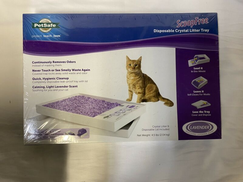 ScoopFree Litter Tray Refill Lavender Scented